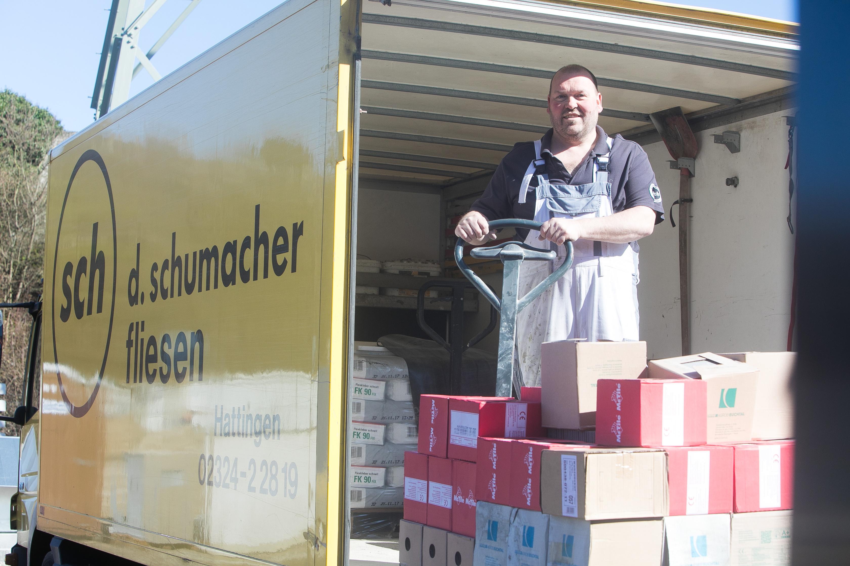 D. Schmacher Fliesengesellschaft mbH in Hattingen Fliesen Großkunden Badezimmer Schwimmbäder Krankenhäuser